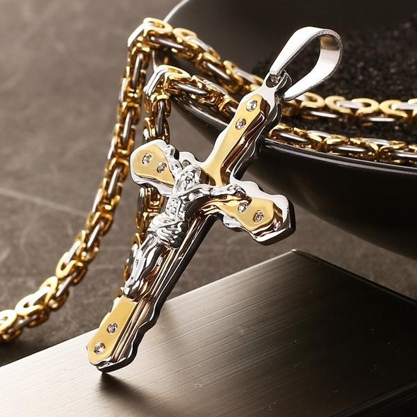 mens necklaces, DIAMOND, Jewelry, gold