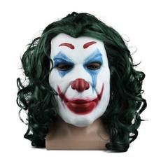 jokermask, latex, Head, Cosplay