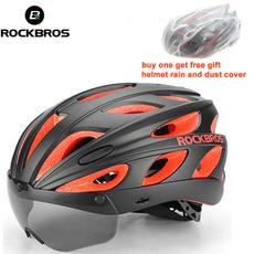 rockbro, Cycling, Sports & Outdoors, integrallymoldedhelmet