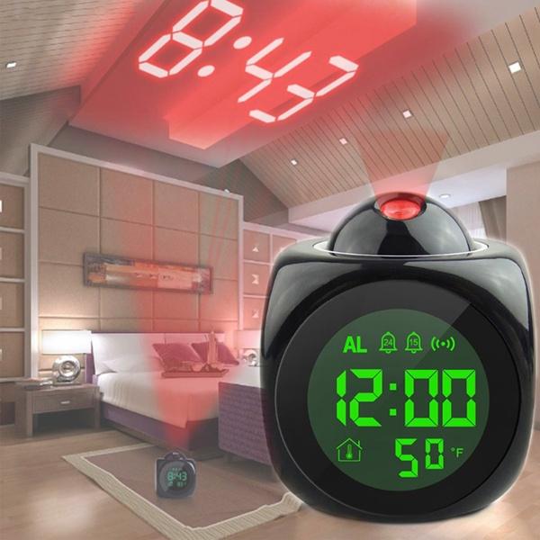 projectionalarmclock, Colorful, Led Clock, timeclock