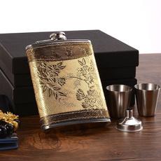 8ozflask, 8ozsteelwinebottle, winebottleset, Gifts