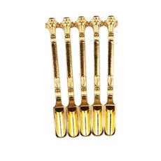 golden, shovel, Cigarettes, Metal