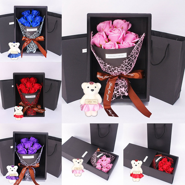 Box, Flowers, Jewelry, Gifts