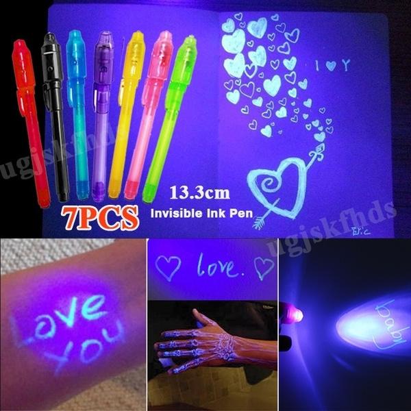ballpoint pen, luminouslight, Magic, invisiblepen