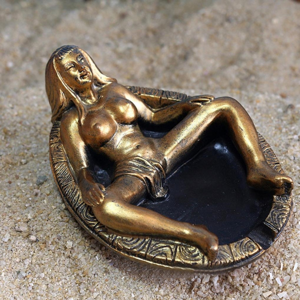 Bath, Vintage, Goth, bronzeashtray