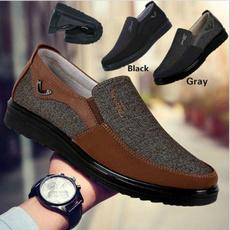 Flats, breathableshoesformen, casual shoes for men, Men