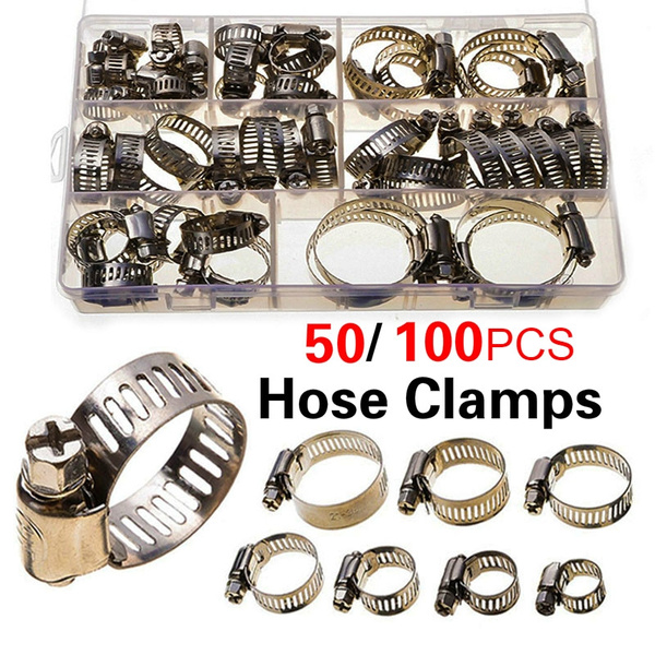 Steel, Stainless Steel, fuelhoseclamp, Clip
