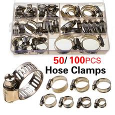 Steel, fuelhose, fuelhoseclamp, Clip