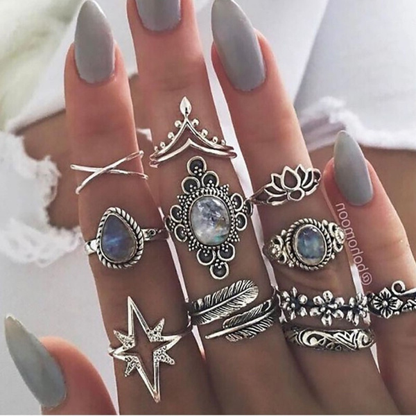 bohemia, crystal ring, Jewelry, Gifts