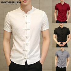 blouse, chinesestyle, Fashion, Men's Fashion