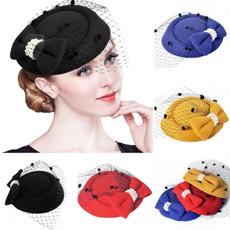 Women's Fashion & Accessories, Vintage, fascinator, derby hat