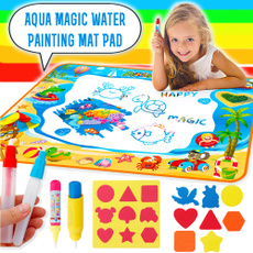 Children, Toy, waterdrawingset, aqua