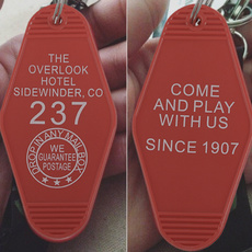 friendgift, theshiningkeychain, overlookhotelkeytag, Key Chain
