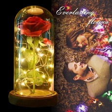 Valentines Gifts, eternalroselight, Flowers, led