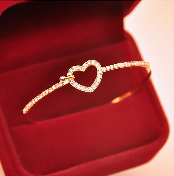 Heart, Fashion, Love, gold