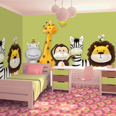 Decor, painted, roll, Wallpaper