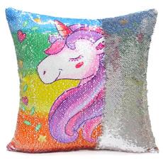 Home Decor, unicorn, Pillow Covers, Cushion Cover