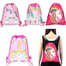 cute, School, Snacks, drawstring backpack