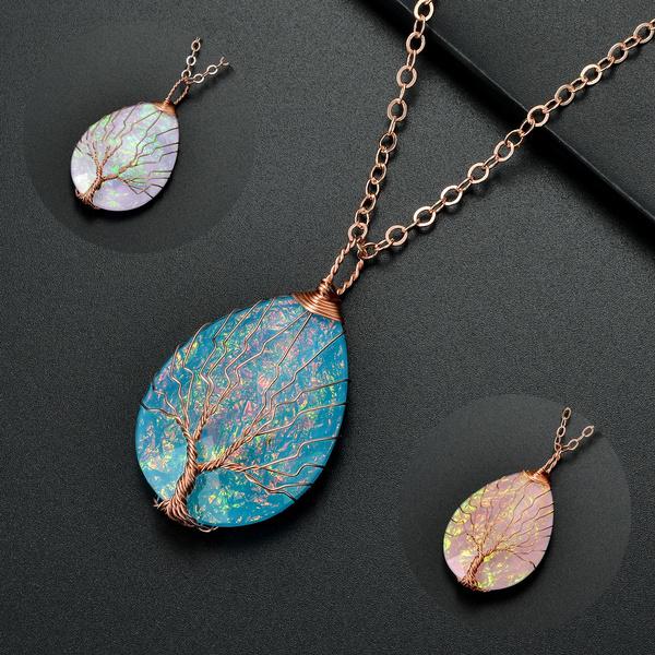 Charm Jewelry, Fashion, women necklace, Tree