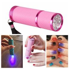 Flashlight, Nail salon, led, uvgelflashlight