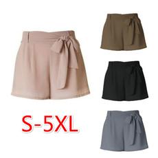 Summer, Plus Size, Lace, pants