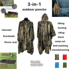 Equipment, survivalshelter, poncho, Picnic