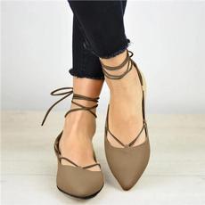 Flats, Sandals, Summer, Spring