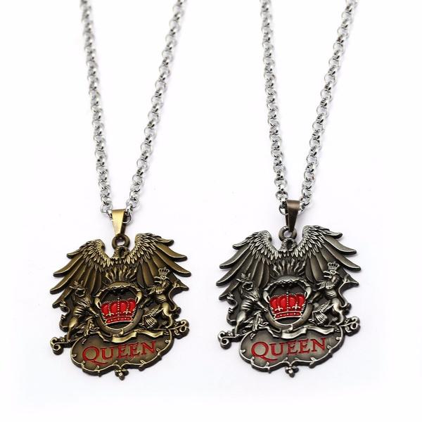 Queen, Toys & Games, Necklaces Pendants, Metal