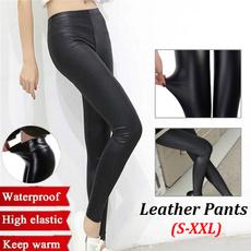 Leggings, Fashion, pants, leather