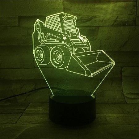 bulldozer, led, Gifts, lights