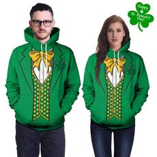 hoody sweatshirt, 3D hoodies, Irish, Fashion