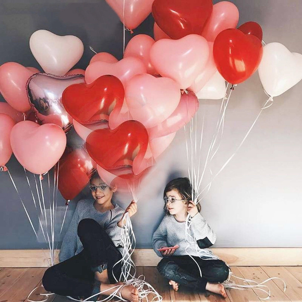 globo, Heart, wedding decoration, birthdayballoon