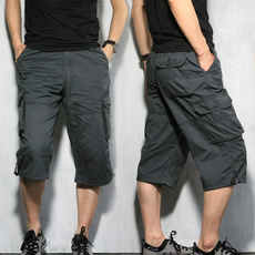 Summer, cottonshort, Men, pants