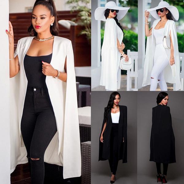 casual coat, sleeveless, Fashion, windbreakerwomen