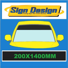 sunstrip, Graphic, 8inchblacksunstripwindscreenbannersunstrip, Cars