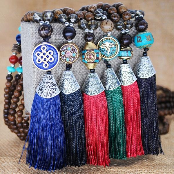Tassels, Fashion, Jewelry, bohemiannecklace