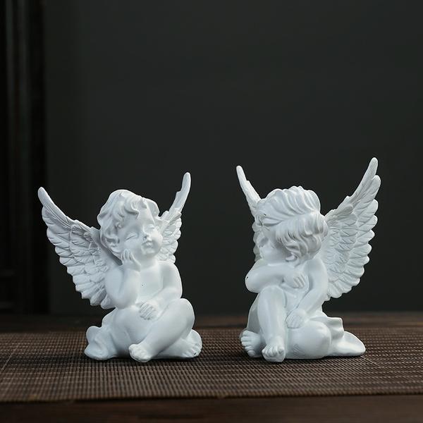 angelornamentsset, Angel, babyangelornament, boyangelornament