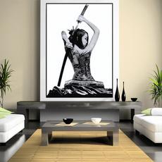 Decor, art, Samurai, walldecoration