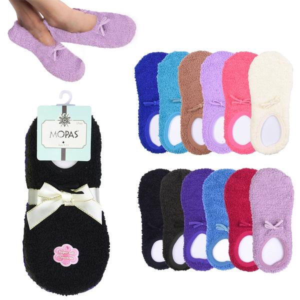 Slippers, New, Socks, Plush