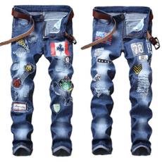 men jeans, Men, Elastic, pants