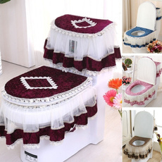 Home Supplies, Lace, Cover, Bathroom