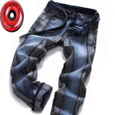 Blues, men jeans, Plus Size, Casual pants