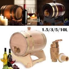 woodbarrel, whiskybarrel, woodenbucket, kitchenbarrel