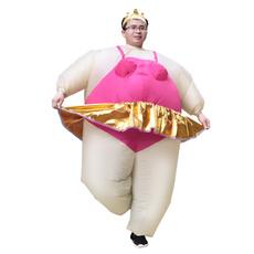 inflatableballetcostume, partyfancydre, Cosplay, inflatablefatballerinacostume