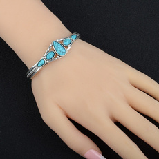 Sterling, turquoisebracelet, bracletforwomen, Turquoise