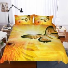 butterfly, bohemianduvetcoverset, giftsforfamily, Sunflowers