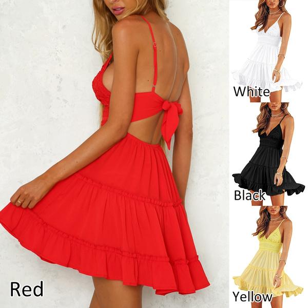 Sleeveless dress, Lace Dress, pleated dress, Lace