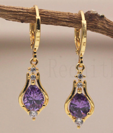 yellow gold, Gemstone Earrings, Gifts, Earring