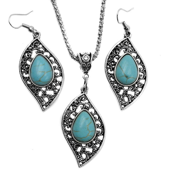 Turquoise, Fashion, leaf, Jewelry