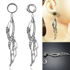 eartunnelplug, earstretcherexpander, Dangle Earring, Jewelry
